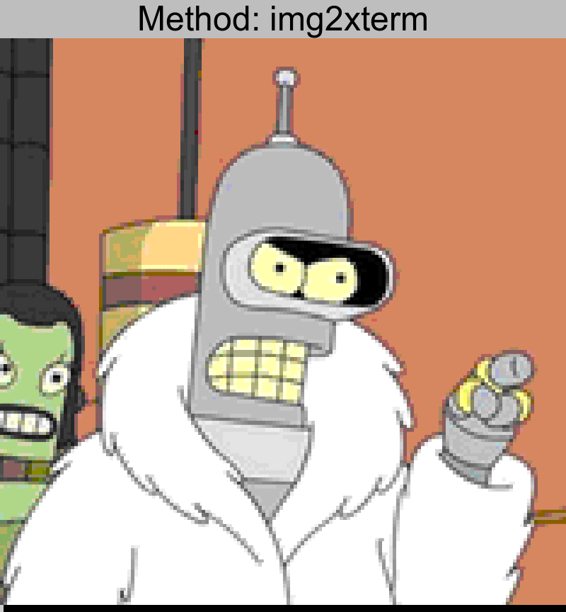 bender.png converted using img2xterm